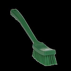 Afbeelding van Afwasborstel met lange steel idem, met harde vezels Vikan 4185