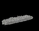Afbeelding van Klamvochtige mop Rapid Clean Rapid Clean, 40 cm, blauwe rug Vikan 549644