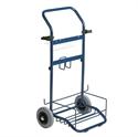 Afbeelding van Trolley, blauwe poedercoatingh x b x d Vikan 9421