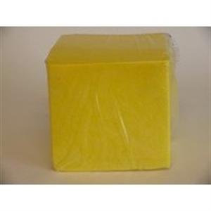 Afbeelding van  non-woven sopdoeken geel 25 x