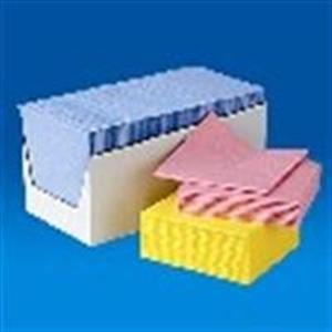 Afbeelding van  non-woven sopdoeken blauw 200x